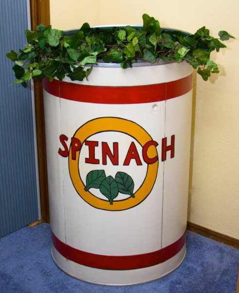 Spinach can