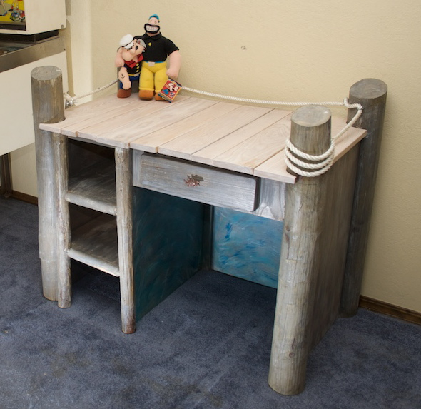 Fishing Dock Desk