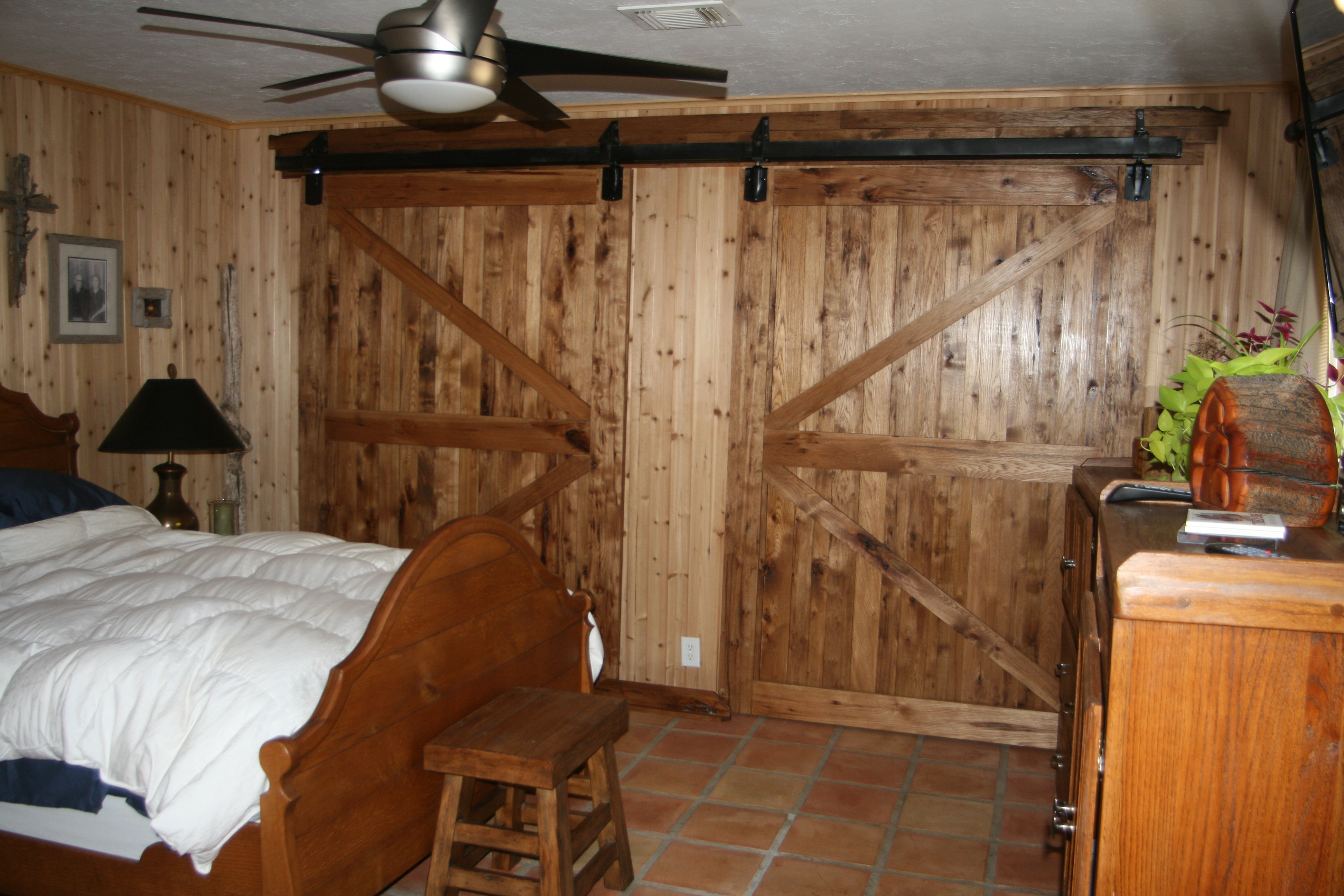 Lindy Williams Interiors Laundry Room Sliding Barn Door Style Barn Style  Bedroom Ideas Decoration Natural.