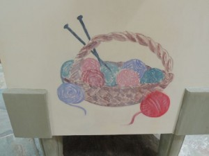 close-up yarn