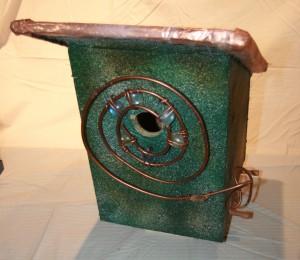 Coiled copper